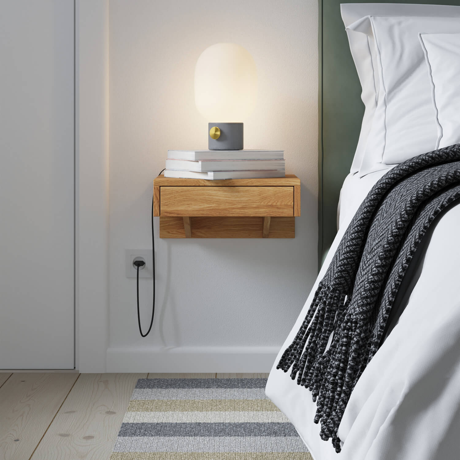 11 Creative Floating Nightstand Ideas For Your Bedroom The Archdigest