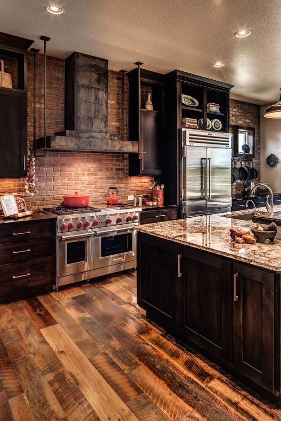 8 Unique Dark Kitchen Cabinet Ideas To Have At Home   The ...